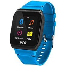 SPC Internet 8564AP - Reloj con reproductor MP3, color azul