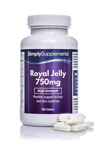Jalea Real 750 mg - ¡Bote para 6 meses! - 180 Comprimidos - SimplySupplements
