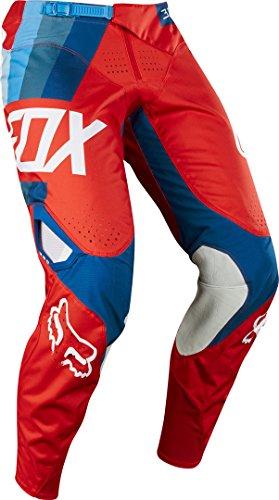 Fox - Pantaloni 360 Honda, taglia 36, colore: Rosso