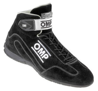 Omp Racing Schuhe (Omp ompic/80007146ENDURANCE Sneaker OMP schwarz Größe 46)