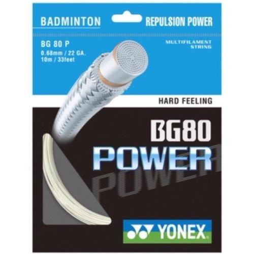 YONEX BG80Cordage pour raquette de badminton 10m trois ensembles