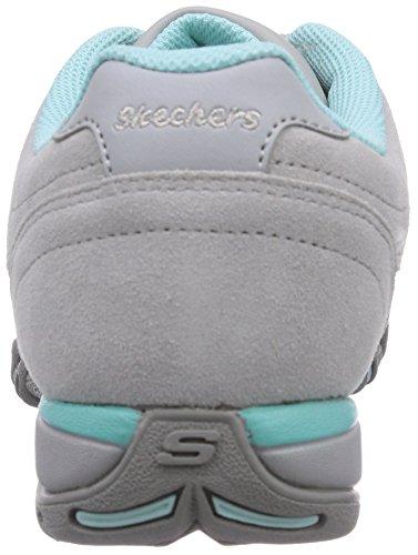 Skechers Speedsters, Baskets Basses femme Gris - Grau (GYAQ)