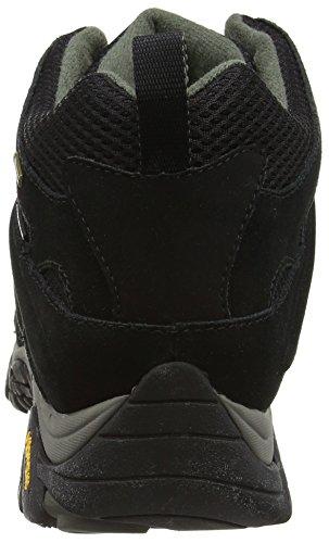 Merrell - Moab Mid GTX - Chaussure de randonnée - Homme Black