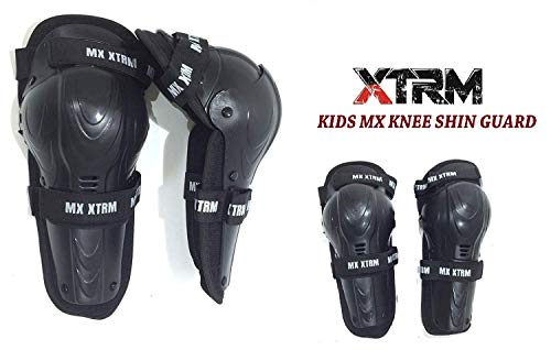 XTRM bambini ginocchio e tibia CE Armour Guard per motocross off Road su strada protezio