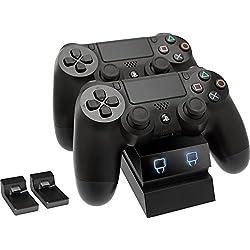 Dual Station de recharge avec LED pour PS4
