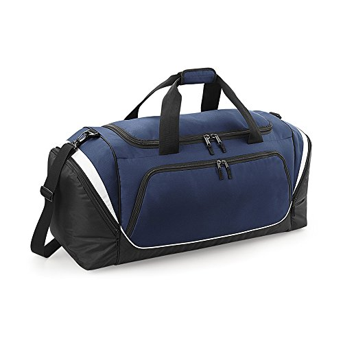 Quadra–Sport-/Reise-tasche Grand Volume 114L–qs288–Pro Team Jumbo Kit Bag Bleu marine/noir/blanc