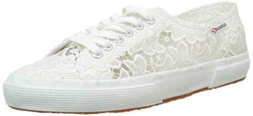 Superga 2750 - Scarpe da Ginnastica, Donna, colore Blanco - Weiß (901), taglia 42