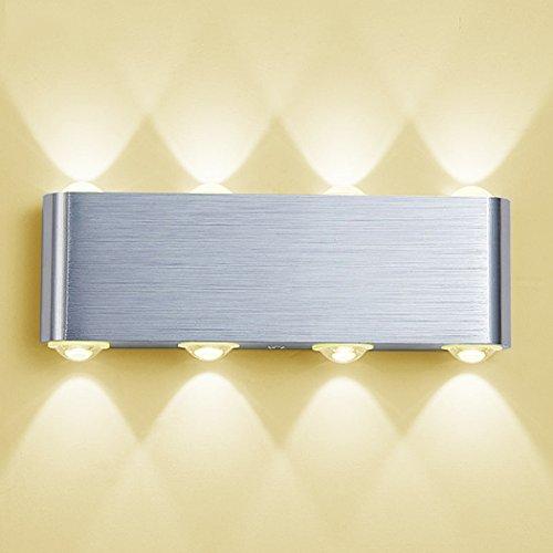 WunderschöNen Bad Spiegel Lampe Licht Wasserdichte Wand Montiert Einstellbar 8 Watt Moderne Innen Beleuchtung Waschraum Wc Make-up Kommode 110 V 220 V SchöN In Farbe Led-lampen