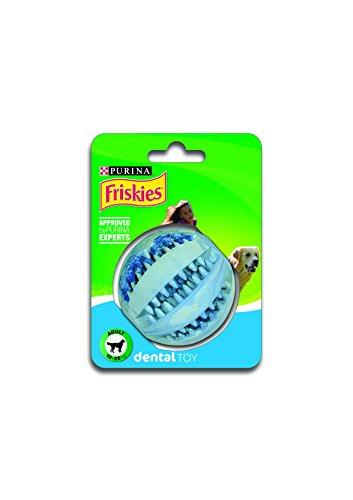 Purina - Friskies 12126367 Juguete Pelota Dental Perro