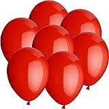100x Rundballons ROT Ø25cm + Geschenkkartenset + PORTOFREI mgl. + Helium & Ballongas geeignet. High Quality Premium Ballons vom Luftballonprofi & deutschen Heliumballon Experten. Tolle Luftballondeko und Geschenkidee mit Ballons.