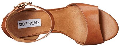 Steve Madden Estoria Dress Sandal Cognac Leather
