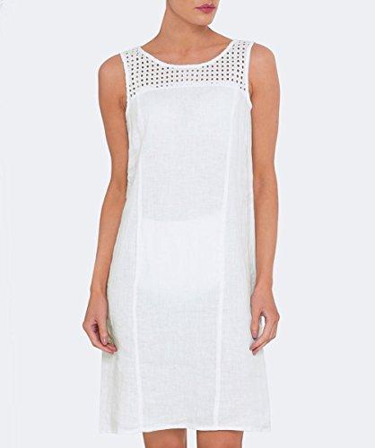 Backstage Femmes Tunique de lin venus Blanc Blanc