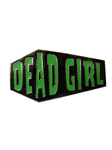 KULTFAKTOR GmbH Kreepsville Gothic Ring Sarg Dead Girl schwarz-grün ()