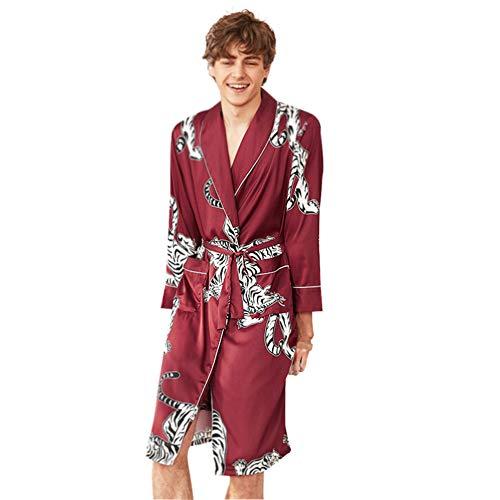 Ehepaar Pyjamas Frühling und Sommer Braut Bräutigam Morgen Kleid Home Night Kleid Pyjamas Bequeme Freizeit Urlaub Heiraten Geschenk,b,XXL (Lustige Ehepaar Kostüm)
