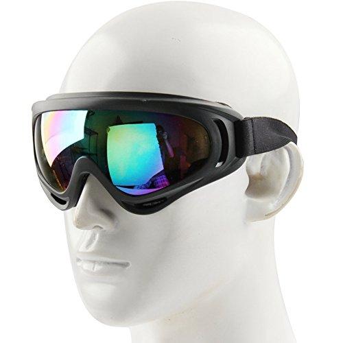 WARM home Wunderschönen Staubschutzbrillen/Snowboardbrillen mit Trageriemen, Winddicht Geschenk