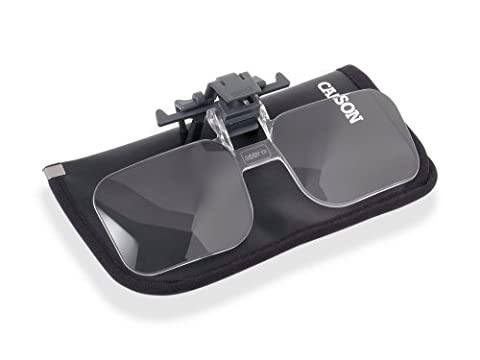 Carson 2x Clip and Flip Power Magnifying Lenses