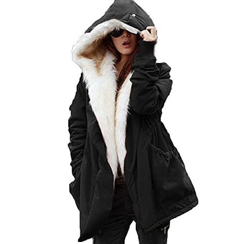 WintCO Manteau Femme en Automne Hiver Garder Chaud avec des