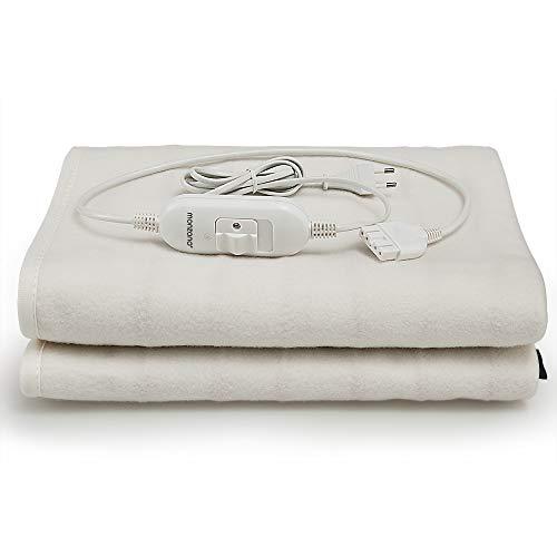 Deuba® Calienta camas | Calienta sabanas | Manta eléctrica de 150 x...