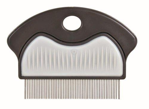 flohshampoo fuer menschen Trixie 23761 Floh- und Staubkamm, Metall, 7 cm
