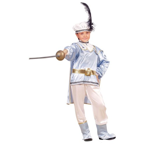 Kostüm Prince Charming Männer - Dress Up America 374-M Prince Charming Kinder Kostüm boys Alter 8-10 (Taille 30-32, Höhe 45-50 Zoll)