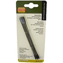 Proxxon 28743 Standard-Feinschnitt-Sägeblätter mit Querstift normal verzahnt, 12 Stück