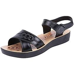 Été Chaussures Femmes Sandales À Fond Doux Respirant Motif d'amour pour Femmes