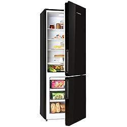 Klarstein Luminance Frost - Combiné réfrigérateur congélateur, 422L, Clase énergétique A+, Noir