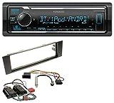 Kenwood KMM-BT305 MP3 AUX Bluetooth USB Autoradio für Audi A3 8P 03-06 Bose Aktivsystem Mini-ISO