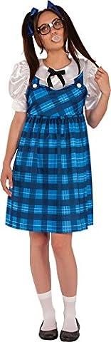 Rubies Nerd Lady School Uniform Costume STD