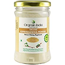 Orgrain India Certified Organic Ashwagandha Powder - 100 gms