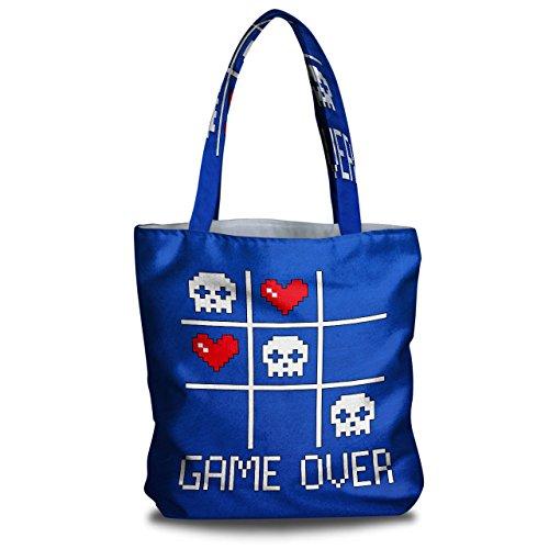 game-nerd-computer-geek-canvas-tote-bag-38cm-x-40cm-wellcoda