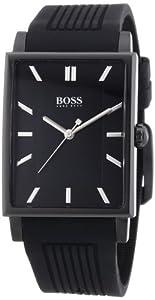 Hugo Boss 0 - Reloj de cuarzo para hombre, con correa de silicona, color negro de Hugo Boss