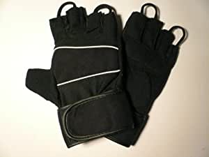 BRAND NEW AMARA GYM / WEIGHT LIFTING TRAINING GLOVES WITH WRIST SUPPORT *LARGE*