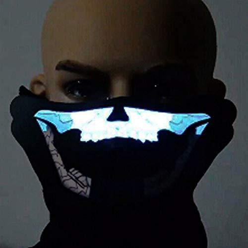 Boodtag LED Maske EL Kaltes Licht Maske Beleuchten -