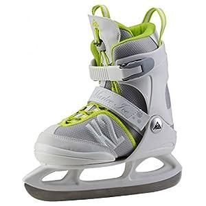 K2 Kinder Schlittschuhe MARLEE ICE – weiß-grau-gelb – 25A0200.1.1