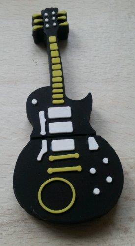 lash Pen Drive Speicher Speicherstick Gitarre Gibson Les Paul Style (Combi Flash)
