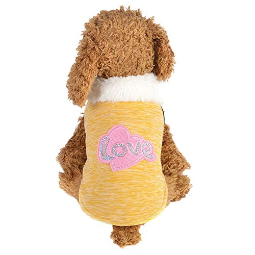 Komisch Santa Kostüm - Bluelucon Hundeweihnachts Mantel Haustier Hund in Santa Kostüm-Ausstattungs Anzug Mit LED Licht