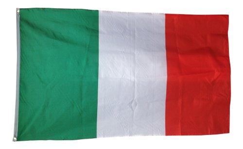 Géant Drapeau italien 8 m x 5 m/2,5 m x 1,5 m Italie 100% polyester