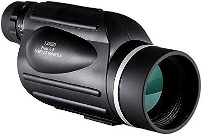 BNISE Monocular de gran Potencia 13X50, Campo de visión Luminoso y claro, Observación simple con una sola mano, Resistente al agua, antiniebla, Observación de aves o fauna silvestre, con medidor de distancia