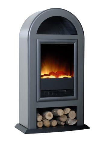 Preisvergleich Produktbild EWT 114938 Nordic de Luxe Elektrisches Kaminfeuer mit Fernbedienung