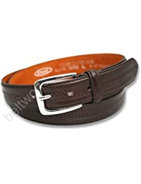 Mens Leather Lined Trouser waist Belt
