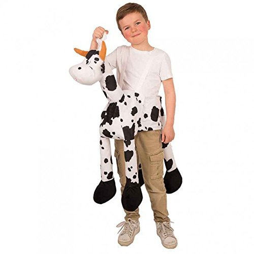 Reittier Kuh für Kinder zum Überhängen / Aufsitzkostüm / Huckepack Kostüm Reitkostüm / (Reittier Kostüm)