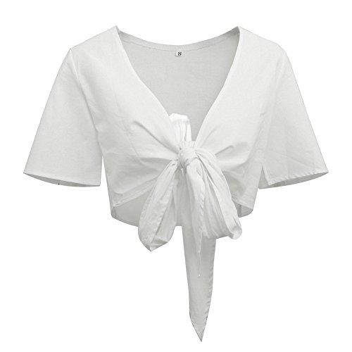 Vimans -  Vestito  - linea ad a - Donna White