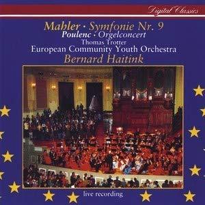 Symphony No.9 in D; Organ Concerto in G minor - Organ Concerto Poulenc