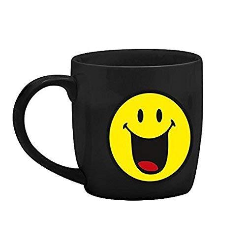 Zak designs 6727-8517 Mug thé Porcelaine Noir 35 cl