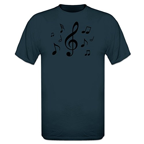Shirtcity Camiseta Music Notes