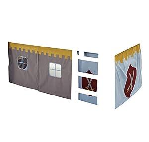 diseño de tiendas online: Steens - Tienda de campaña infantil, diseño de castillo, color gris