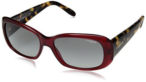 Occhiali da sole vogue red havana lenti grey gradient 0vo2606s 194711 55-15-135