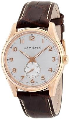 Hamilton Men's Analogue Quartz Watch with Leather Strap H38441553