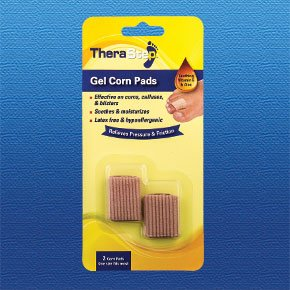 TheraStep | Gel Pads| 2 | Unique Taille | Apaisant Vitamine E & Aloe